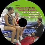 Trampoline Drills for ALL Gymnastics Disciplines by Joy Umenhofer ~ Critical Drills for Skill Development & Challenging Skills to Coach